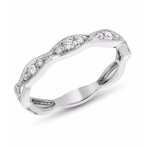 Marquise Motif Diamond Band