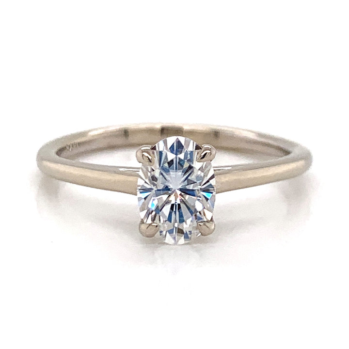 """A Star is Born"" Moissanite Ring"