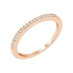 Delicate & Classic Diamond Band