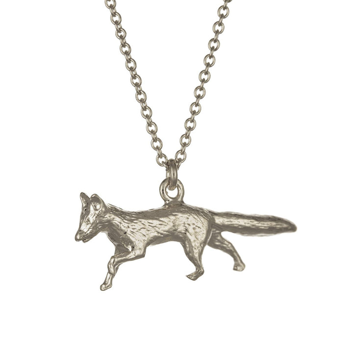 Prowling Fox Necklace