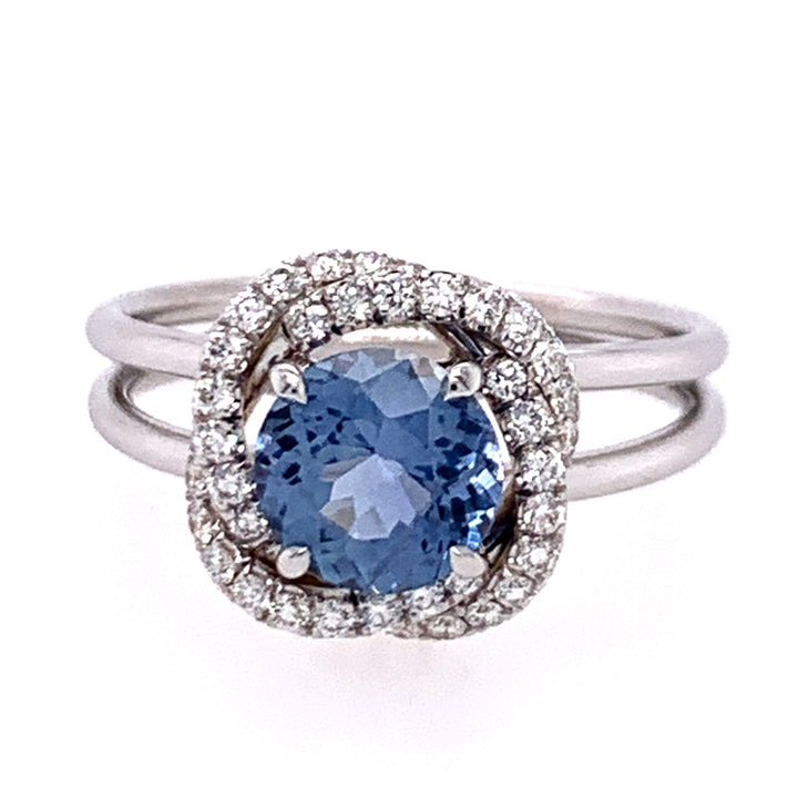 """The Big Sky"" Yogo Sapphire Ring"