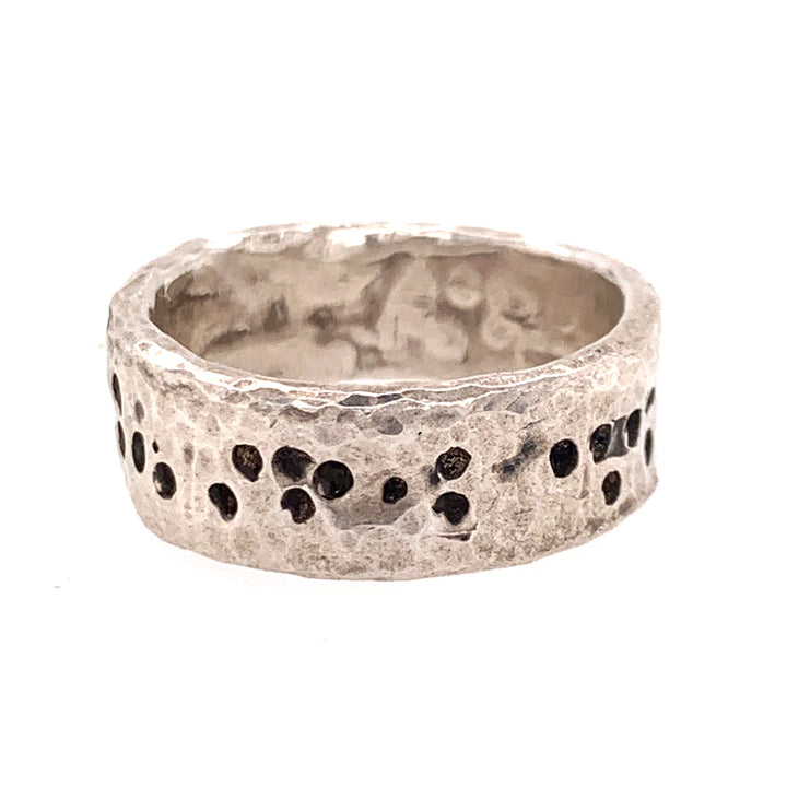Silver Cutthroat Ring