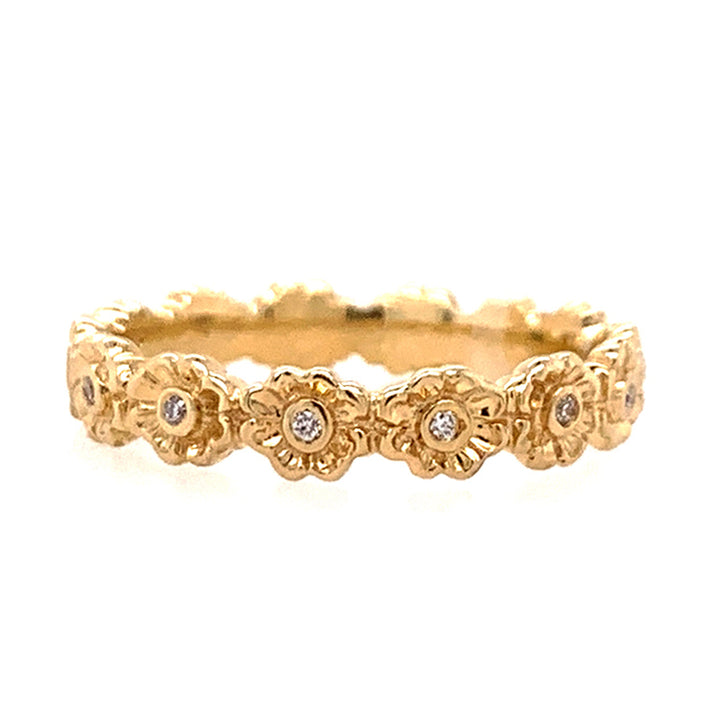Flora Diamond Eternity Band