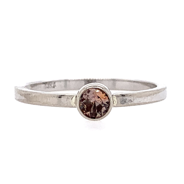"""Bridger Mountain Sunset"" Sapphire Ring"