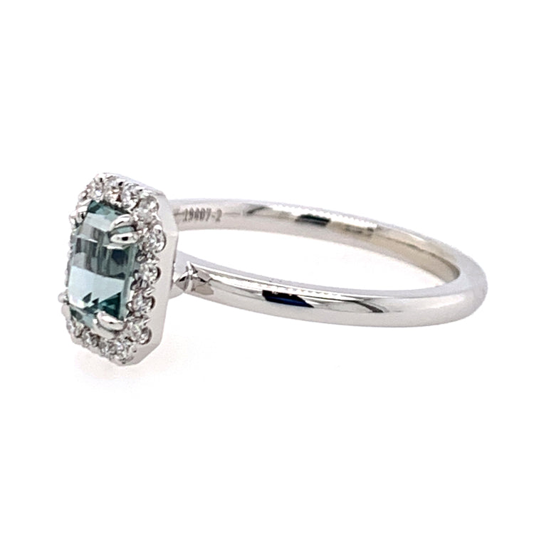 """Headwaters"" Montana Sapphire & Diamond Ring"