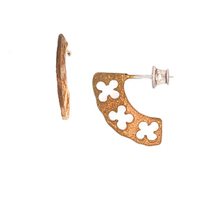 Fanned Clover Earrings