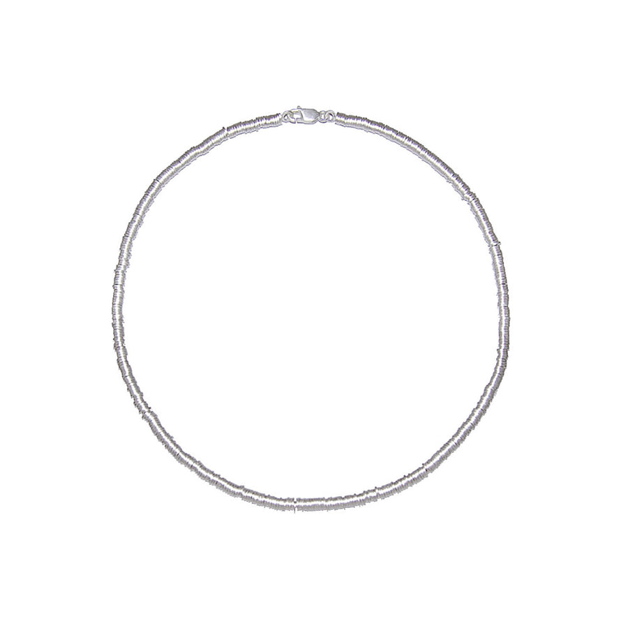 Sterling Silver Little Oval Necklace