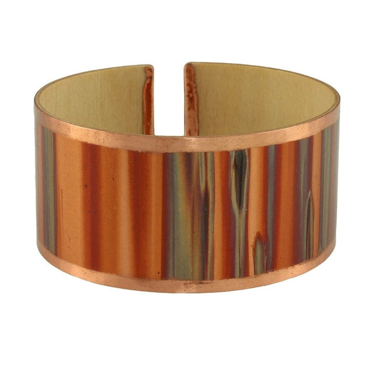 Copper Bracelet with Patina
