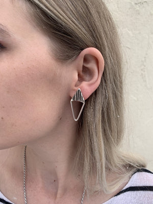 Open Parallelogram Earrings