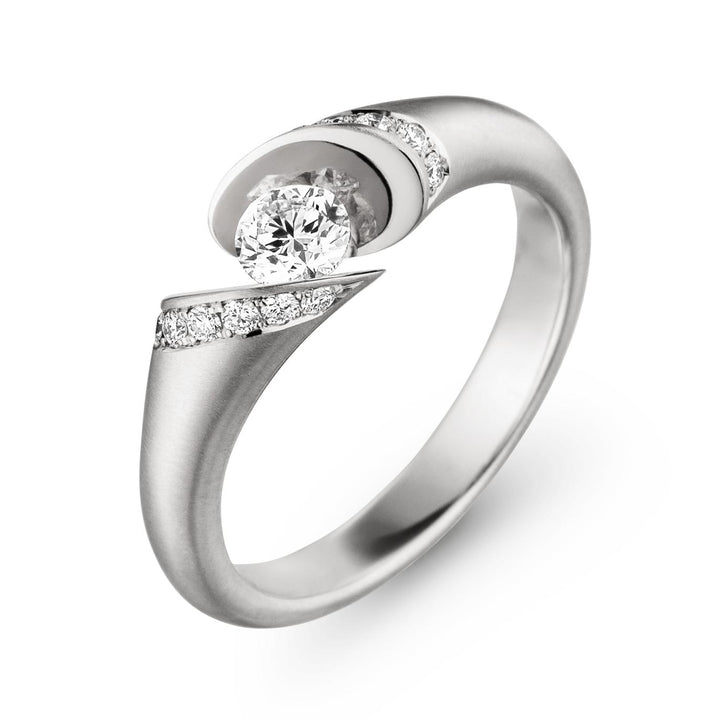 """CALLX"" Diamond Ring"