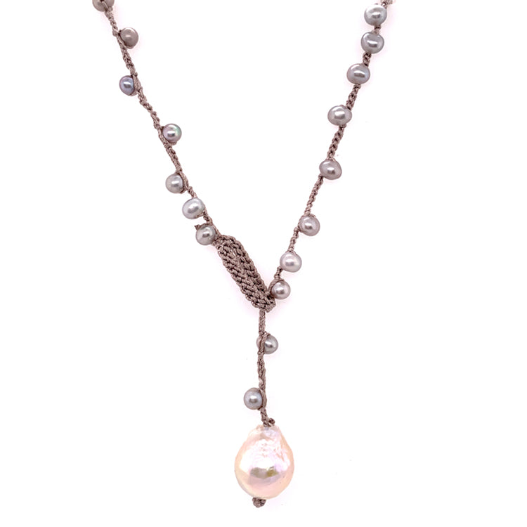 """Avalon"" Pearl Necklace"