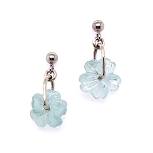 "Aquamarine ""Florita"" Earrings"