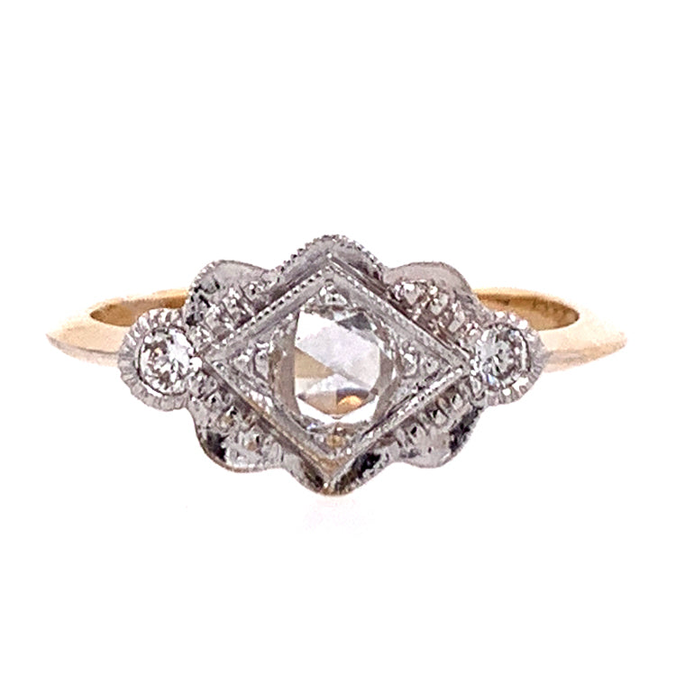"""Heirloom"" Diamond Ring"
