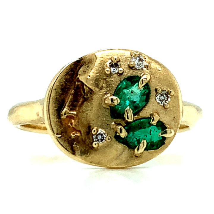 """Face of Horae"" Ring"