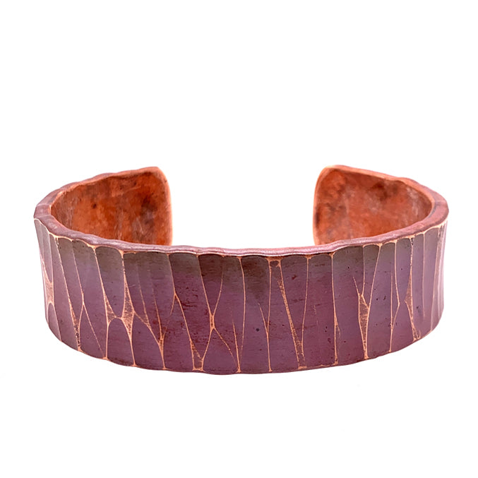 'Aspen' Wide Copper Cuff