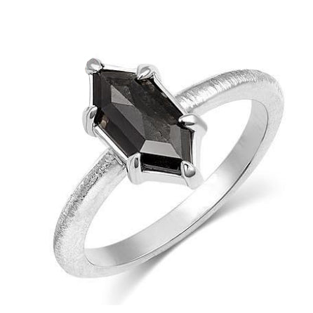 Anit Dodhia Grey Kite Shaped Diamond Ring