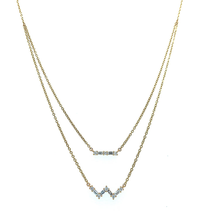 """Diamond Swing"" Adjustable Necklace"