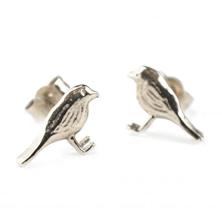 """Little Robin"" Stud Earrings"