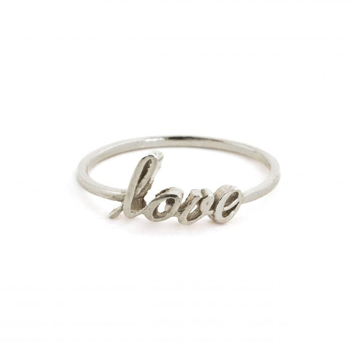 """Signed with Love"" Ring"