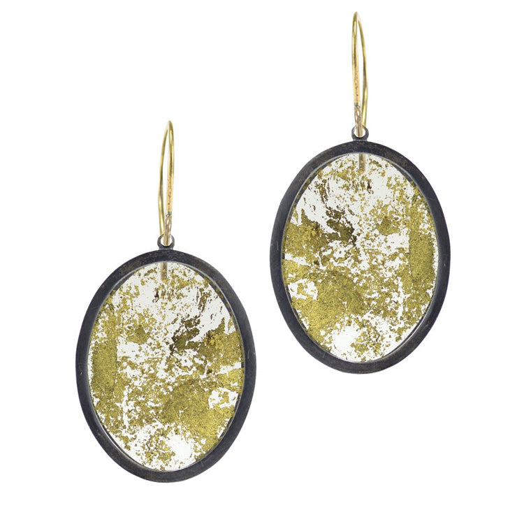 "Gold Leaf ""Memento"" Earrings"
