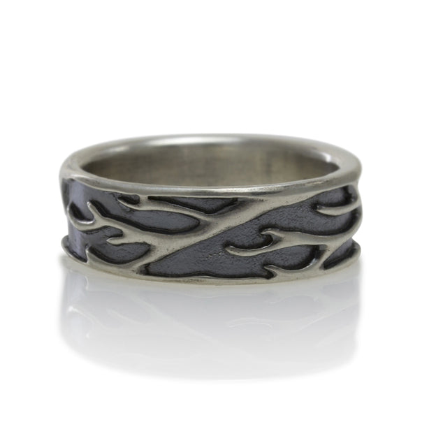 Luana Coonen | Birch Branch Silver Ring