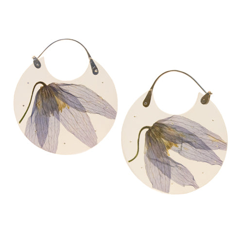 Luana Coonen | Clematis Flower Earrings