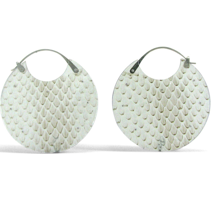 Luana Coonen | Snake Skin Earrings