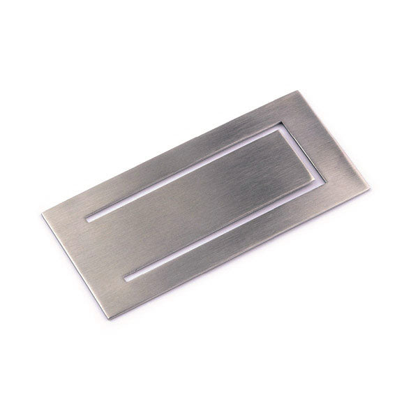 Mono Rectangular Money Clip