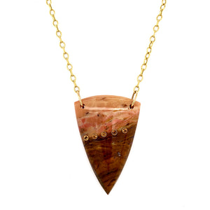 "Jasper & Citrine ""Jupiter"" Necklace"