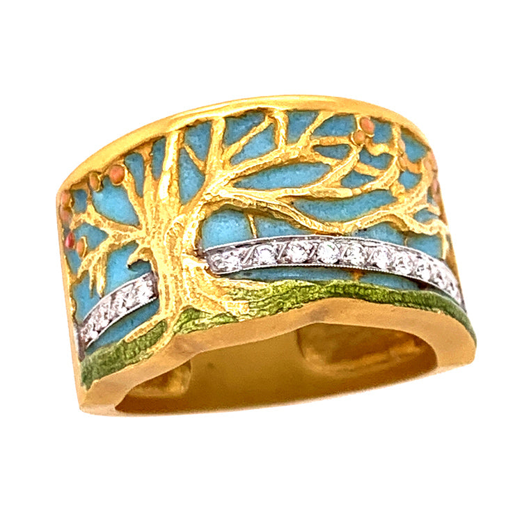 "The Tree of Life ""Spring"" Ring"