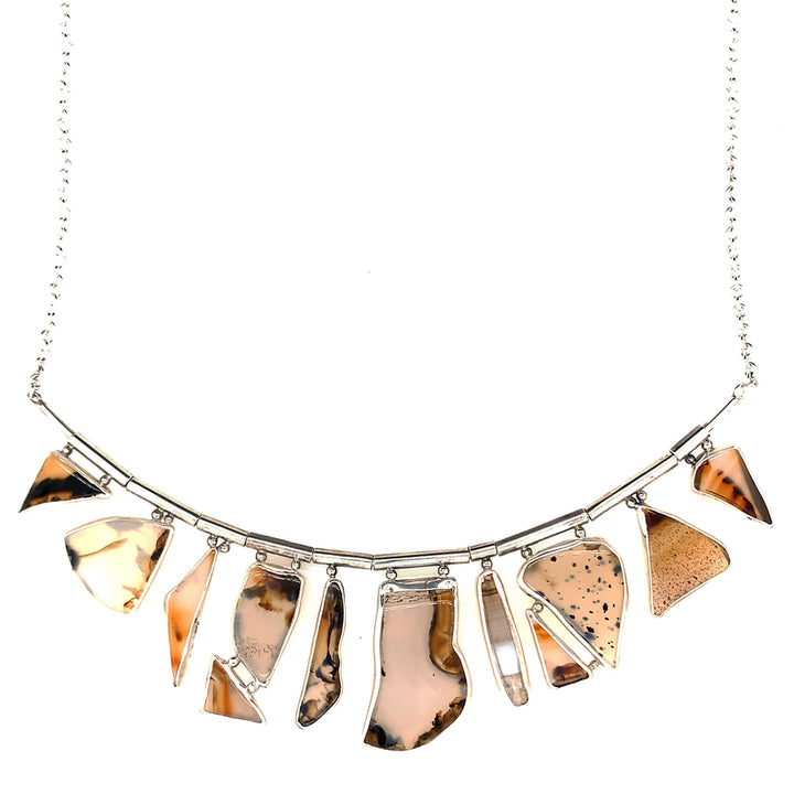 "Montana Agate ""Illumination"" Necklace"