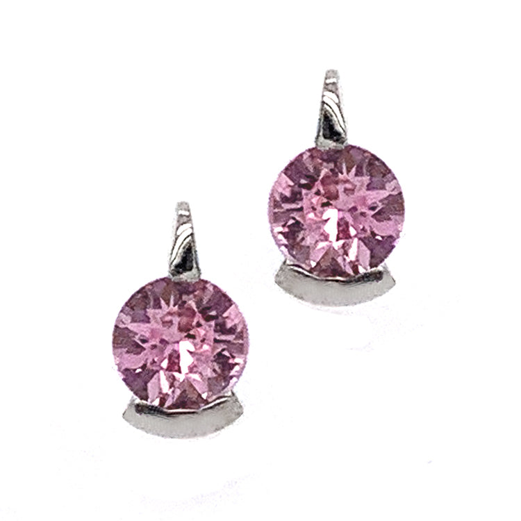 """Pretty in Pink"" Montana Sapphire Earrings"