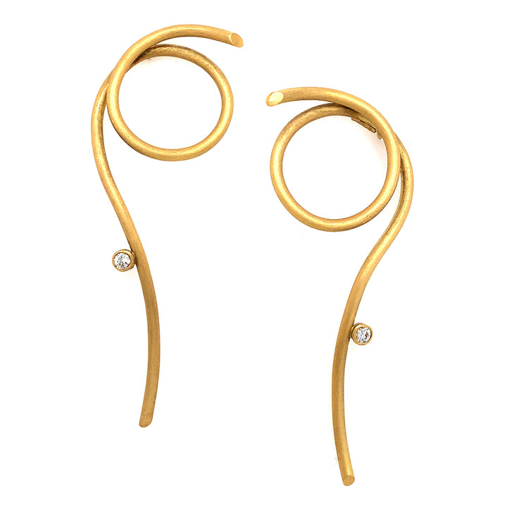 "Nuria Ruiz ""Spaghetti"" Earrings"