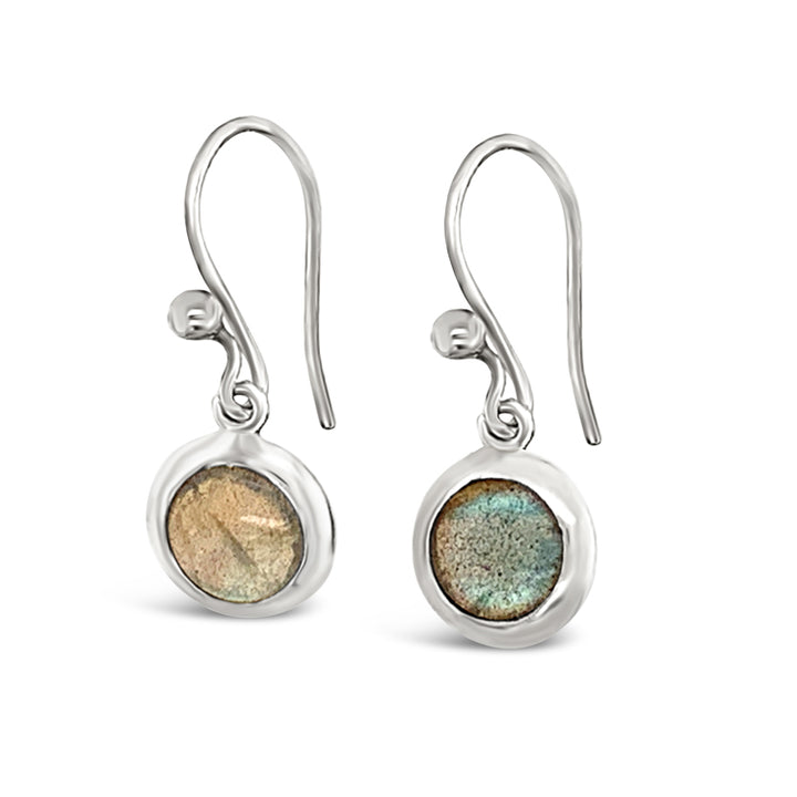 Petite Labradorite Drop Earrings