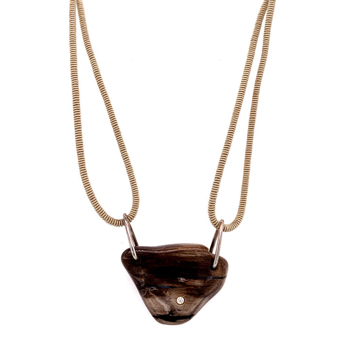 """Petrified Forest"" Necklace"