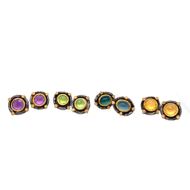 Michael Jensen Romanesque Gemstone Studs