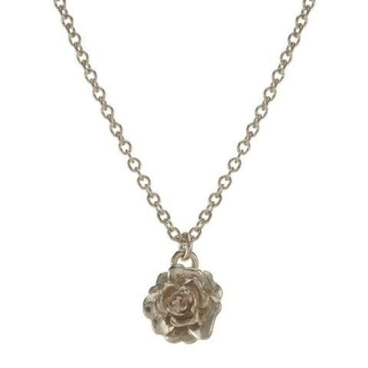 """Rosa Damasca"" rose necklace by Alex Monroe"