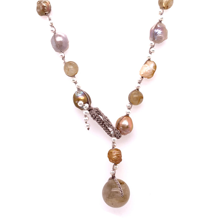 """Elizabeth I"" Pearl Necklace"