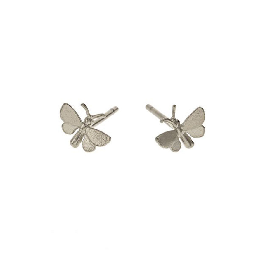 """Tiny Butterfly"" Stud Earrings"