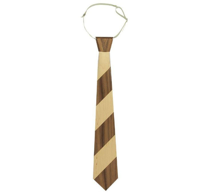 Walnut & Maple Wooden Necktie