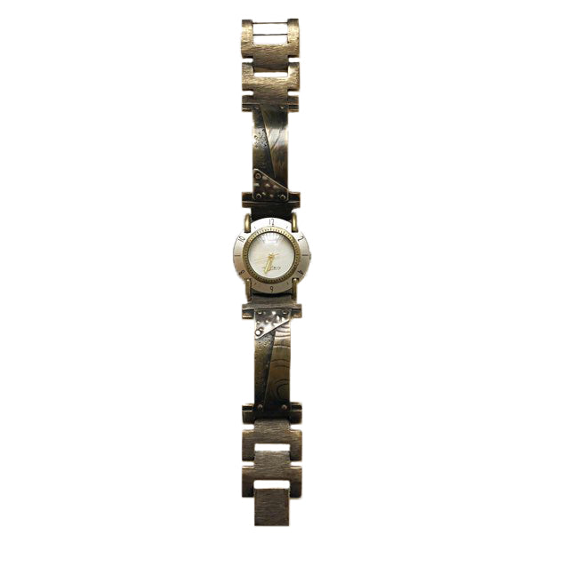 Eduardo Milieris Watchcraft Narrow Full Moon Wristwatch