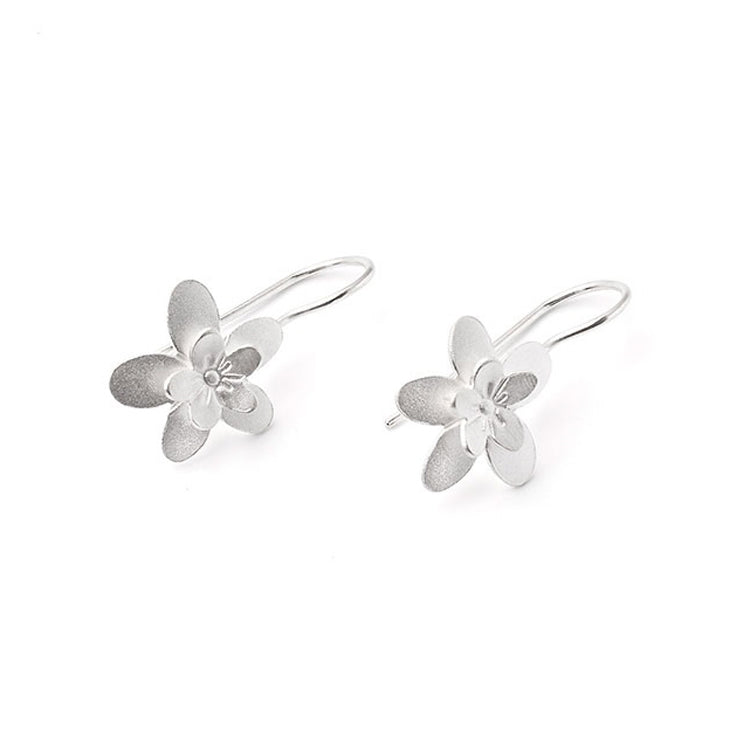 Sakura Petals French Wire Earrings