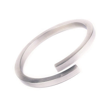 Stainless Steel Bypass Bangle