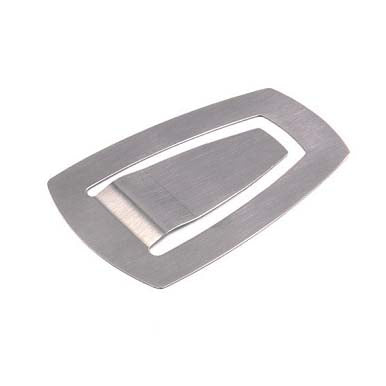 Mono Rhombus Money Clip