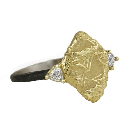 Sarah Graham Trigon Diamond Ring
