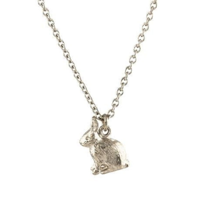Sitting bunny necklace by Alex Monroe