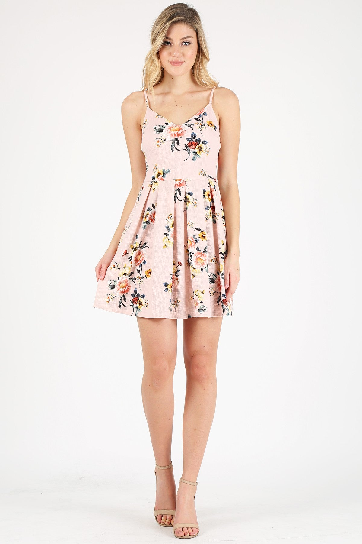 Floral Fit & Flare Dress