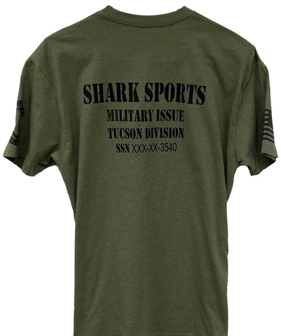 Men's Sharks Military Appreciation Shirt