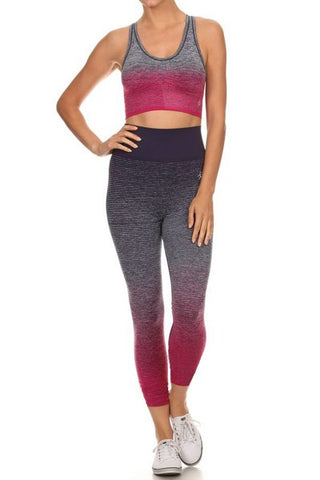 Sports Bra & Leggings Set
