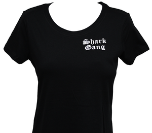Women's Black Shark Gang Shirt